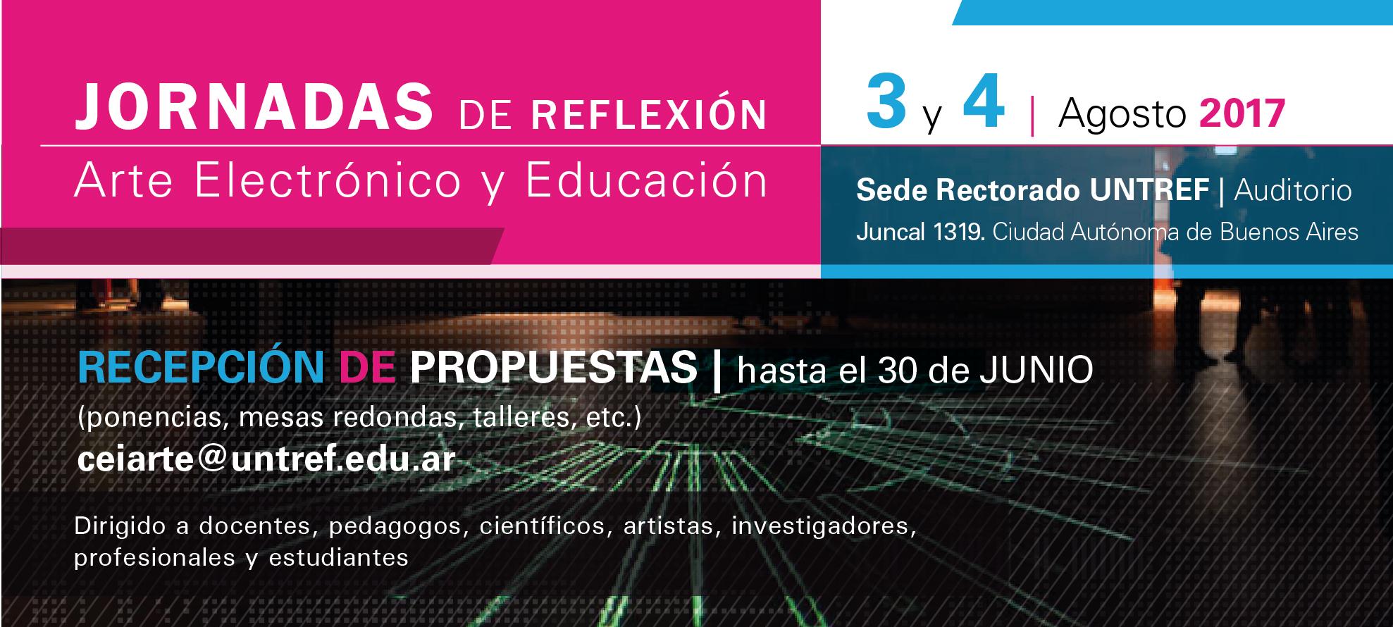 De reflexiones y caminos. Arte electrónico y educación en la UNTREF
